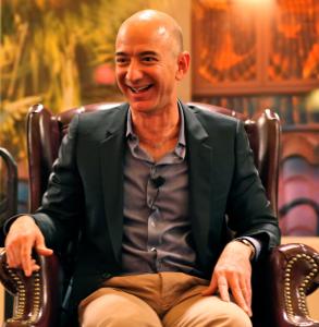 ジョフベゾス Amazon